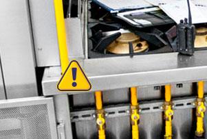 reparación de fugas en cocinas de gas natural, butano y propano