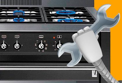 reparación de urgencias de cocinas de gas