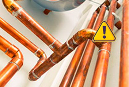 Reparación urgente de fugas de gas natural