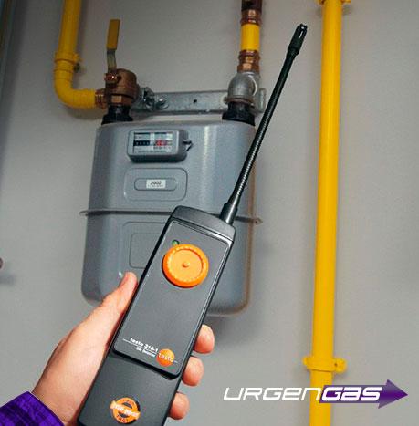 servicio técnico urgente de fugas de gas natural en Toledo