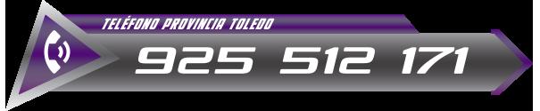 teléfono de urgencias certificados de gas natural Toledo