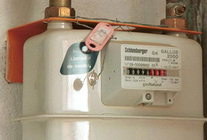 urgencias de contadores de gas natural en Aluche