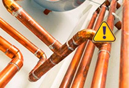 urgencias de fugas de gas natural en El Álamo